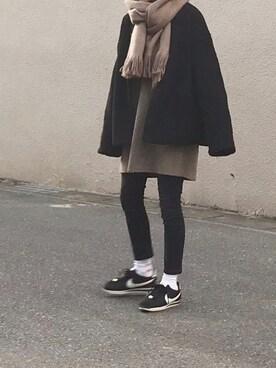 Ayaさんのミリタリージャケット「リバーシブルボア&キルティングブルゾン(koe コエ)」を使ったコーディネート