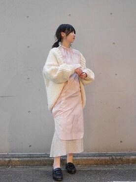 MIDWEST TOKYO WOMEN|KEIKOさんの「PONTI 『MEMO PAD INKJET』ドレス(PONTI)」を使ったコーディネート