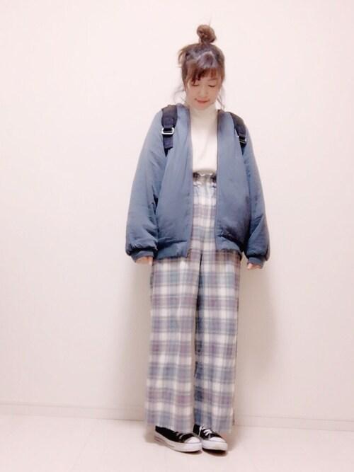 eikoさんの「サカリバハイネックプルオーバー 729720(LOWRYS FARM)」を使ったコーディネート