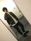Yu  Aoyamaさんの「PETIT STANDARD/15OFF プチスタンダード(A.P.C. アー・ペー・セー)」を使ったコーディネート
