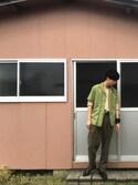 se^naさんの「【付替え可能なマルチバンド】デザインスリッポン(HARE)(HARE|ハレ)」を使ったコーディネート