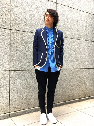 「【A(LeFRUDE)E】MENS 別注ジャケット(A(LeFRUDE)E)」 using this LOVELESS青山|hiromu looks