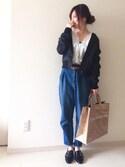 chakoさんの「春夏新作★バックルシューズ★7119(ORiental TRaffic|オリエンタルトラフィック)」を使ったコーディネート