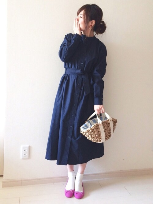 chakoさんの「春夏新作★バレエシューズ★7604(WA ORiental TRaffic)」を使ったコーディネート