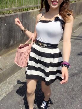 Ayaka Onishiさんの(PINKY&DIANNE ピンキーアンドダイアン)を使ったコーディネート