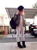 いく☆さんの「MASON's Back Pack(TODAYFUL|トゥデイフル)」を使ったコーディネート