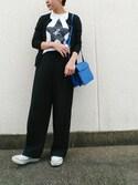 yuriさんの「【CONVERSE (コンバース)】 SLIP     OX  スリッポンスニーカー(CONVERSE コンバース)」を使ったコーディネート