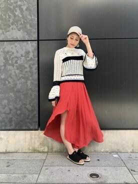 NINE LUCUA 大阪|Mai Onoさんの(NINE|ナイン)を使ったコーディネート