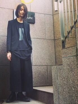 Syun-ichi Ushikuboさんの(LAD MUSICIAN ラッドミュージシャン)を使ったコーディネート