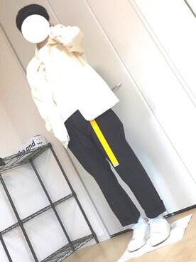 はるぽんさんの(adidas|アディダス)を使ったコーディネート