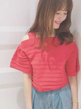 mysticルミネ横浜店|anna  aoyamaさんの(mystic|ミスティック)を使ったコーディネート