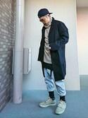 キトモ is wearing H&M