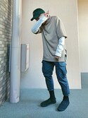 キトモ is wearing FOREVER 21