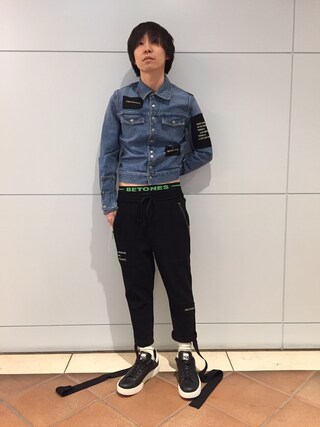 MIDWEST OSAKA HERBIS|fujisakiさんの(CHRISTIAN DADA|クリスチャンダダ)を使ったコーディネート