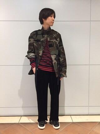 MIDWEST OSAKA HERBIS|fujisakiさんの(603|ロクマルサン)を使ったコーディネート