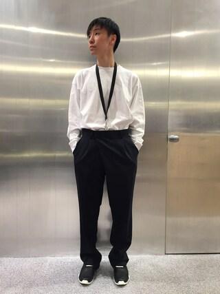 MIDWEST OSAKA HERBIS|fujisakiさんの(MARCELO BURLON|マルセロ・バーロン)を使ったコーディネート