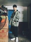 (ZARA) using this 吳 looks