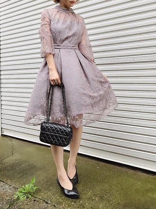 17f85a4451a98 悠喜|RUIRUE BOUTIQUEのドレスを使ったコーディネート - WEAR