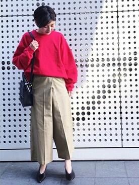 journal standard luxe 渋谷店|S・FさんのTシャツ/カットソー「【GOOD GRIEF/グッド・グリーフ】ビッグスウェット#(JOURNAL STANDARD|ジャーナルスタンダード)」を使ったコーディネート