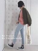 MyUu.iさんの「ミニマルシェバッグ / Mini Marche Bag(TODAY'S SPECIAL|トゥデイズスペシャル)」を使ったコーディネート
