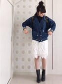 MyUu.iさんの「今シーズンのスタイル作りにマストバイ☆シンプルフィットブーツ/ブーティ/レディース/神戸レタス[I1032](KOBE LETTUCE KOBE LETTUCE)」を使ったコーディネート