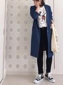 MyUu.iさんの「ミニマルシェバッグ / Mini Marche Bag(TODAY'S SPECIAL トゥデイズスペシャル)」を使ったコーディネート
