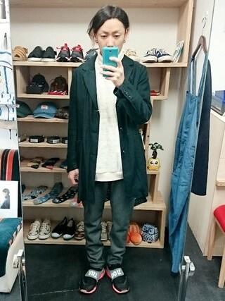 OWL yusuke さんの「LiSS chester coat(LiSS リス)」を使ったコーディネート
