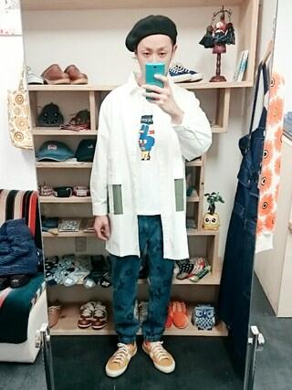 OWL|yusuke さんの「マルチカラーシンプルコート(レディース)(STORES.jp|ストアーズドットジェーピー)」を使ったコーディネート