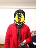 「WEGO/アクリルサーモベレー帽(WEGO)」 using this かいこ looks
