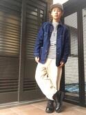 yuseiさんの「orslow/オアスロウ 50's COVER ALL(FREAK'S STORE|フリークスストア)」を使ったコーディネート