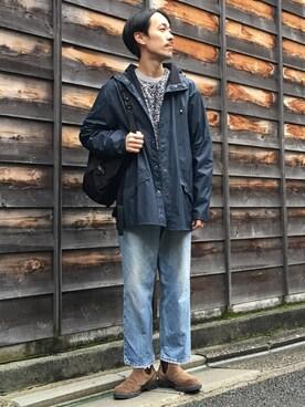 ビューティ&ユース ユナイテッドアローズ 京都店|Keisuke Oosukaさんの「<RAINS> JACKET 16FW/アウター(RAINS)」を使ったコーディネート