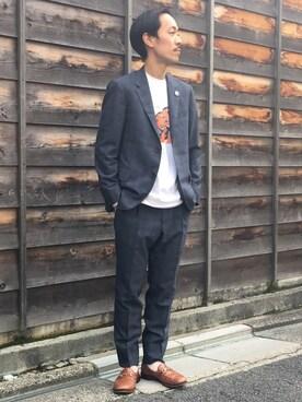 ビューティ&ユース ユナイテッドアローズ 京都店|Keisuke Oosukaさんの(BEAUTY&YOUTH UNITED ARROWS)を使ったコーディネート