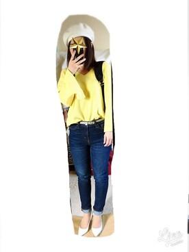 yuka♡さんの「【2017新色登場】ナイロンZIPバックパック/リュック【PLAIN CLOTHING】(PLAIN CLOTHING|プレーンクロージング)」を使ったコーディネート