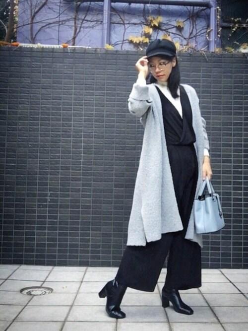 搭配gu针织衫(灰色系)的女性时尚穿搭总览(身高:171cm