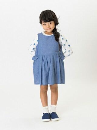 F.O.Online Store F.O.OnlineStoreさんの「4色2柄長袖Tシャツ(Seraph セラフ)」を使ったコーディネート
