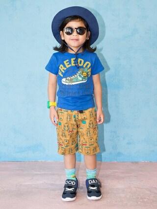 F.O.Online Store F.O.OnlineStoreさんの「ネット限定スニーカーTシャツ(BREEZE ブリーズ)」を使ったコーディネート