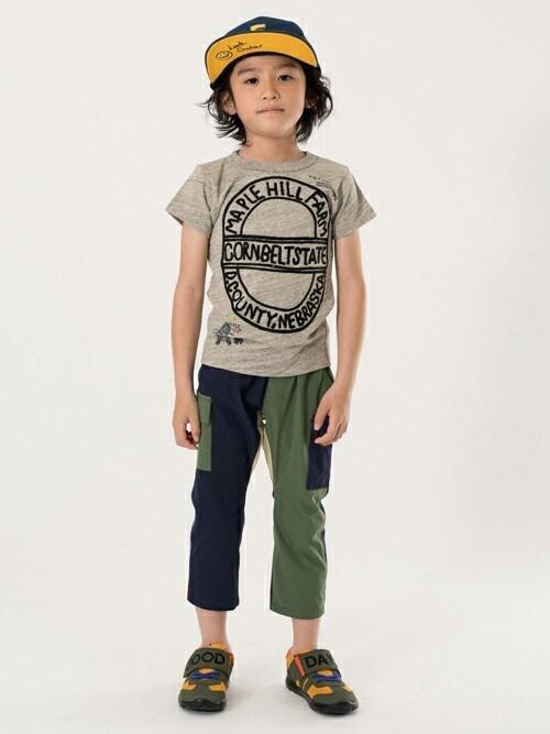 F.O.OnlineStoreさんの「Hobo刺繍Tシャツ(BREEZE)」を使ったコーディネート