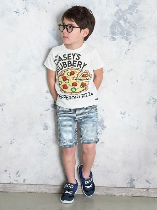 F.O.OnlineStoreさんの「ジャンクフードプリントTシャツ(BREEZE)」を使ったコーディネート