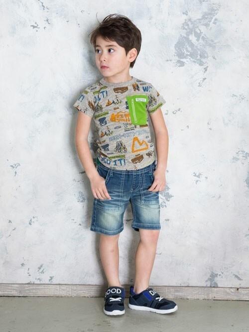 F.O.OnlineStoreさんの「アウトドアポケットTシャツ(BREEZE)」を使ったコーディネート