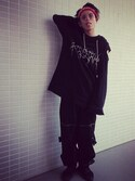 「+ adidas Suede Sneakers(Rick Owens)」 using this NAOTO looks