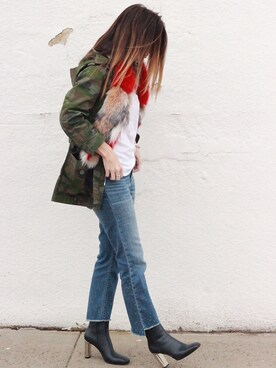 Rosalyn Military jacket「J.CREW 」Styling looks