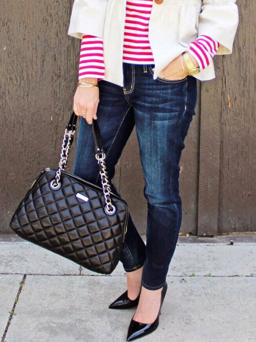 (Kate Spade) using this Rosalyn  looks