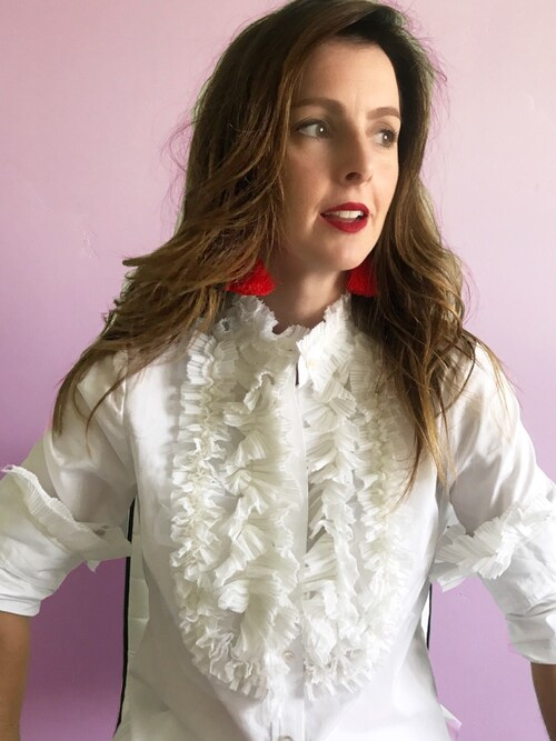 (J.CREW) using this Rosalyn  looks