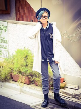 VIZ STORE-TOKYO|KyoNさんの(VIRGO|ヴァルゴ)を使ったコーディネート