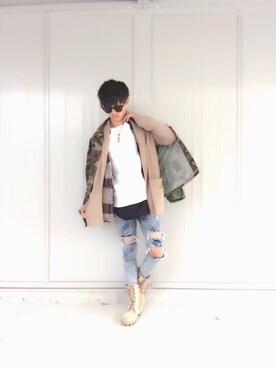 yuukiさんの(FOREVER 21|フォーエバー トゥエンティーワン)を使ったコーディネート