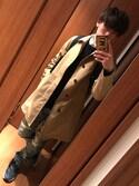Sakai:)さんの「MEN ヒートテッククルーネックセーター(長袖)(ユニクロ|ユニクロ)」を使ったコーディネート