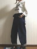 picaさんの「ドレスシャツ(une nana cool|ウンナナクール)」を使ったコーディネート