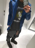 けぶた is wearing KAPITAL