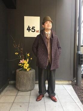 FUMIHIKOさんの(45R|フォーティファイブ・アール)を使ったコーディネート