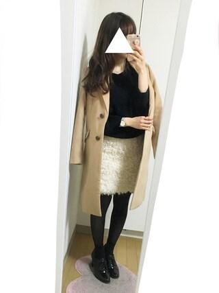 nana♡さんの「モチモチバルーン袖PO(Kastane|カスタネ)」を使ったコーディネート